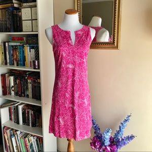 New York & Co Pink Sleeveless Summer Dress